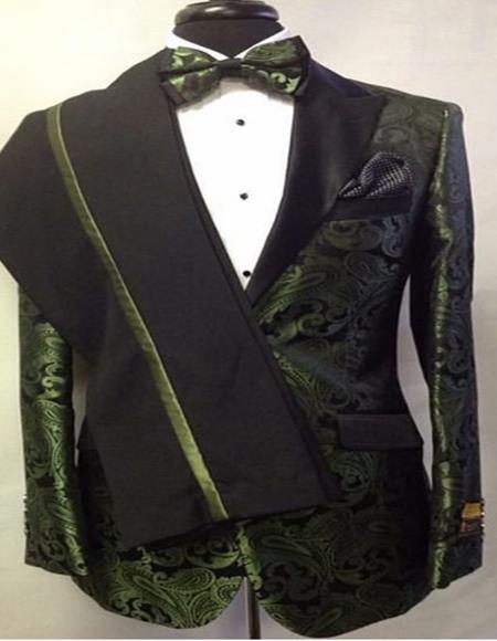 Men's Cheap Priced Designer Fashion Dress Casual Blazer On Sale Shawl Lapel Green Blazer