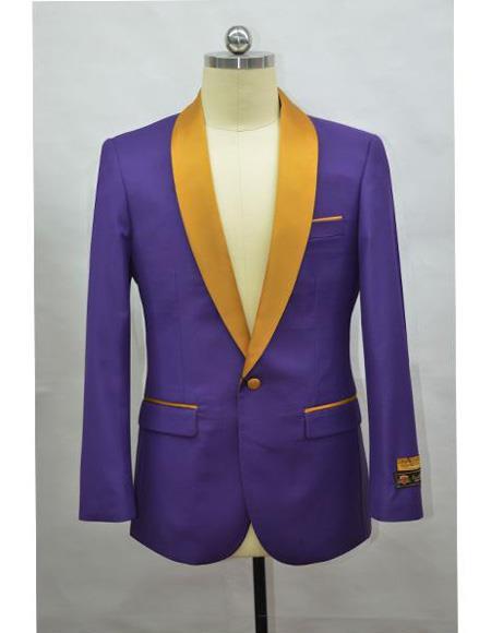 Royalpurple 100% Silk Solid Necktie With Handkerchief $29