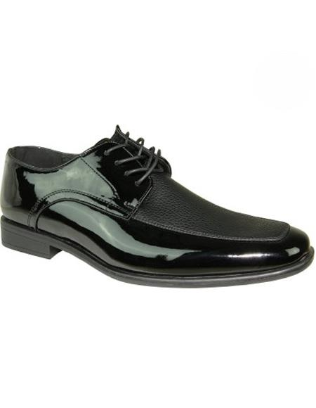 Mens Lace Up Black Shoe