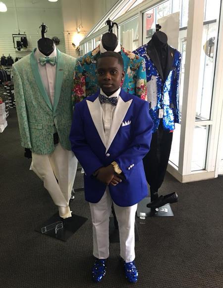 Mens Blue Cheap Priced Designer Fashion Dress Casual Blazer On Sale Flap Two Pockets Peak Label One Button Blazer