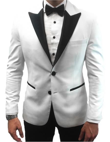 Coming 2020 2 button peak lapel formal tuxedo