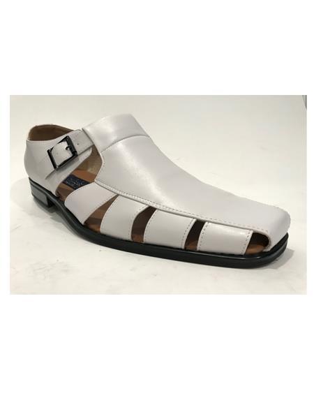 Mens Gray Sandal