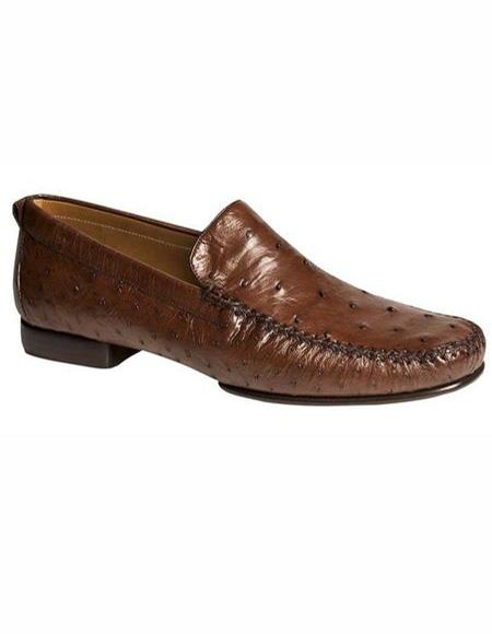 Mens Tobacco Slip