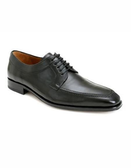 Mens Lace Up Leather Lining Black Shoe