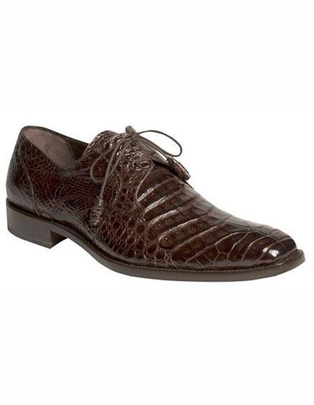 Mens Lace Up Shoe Brown