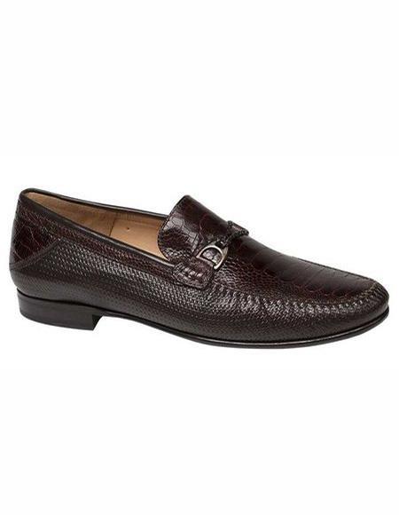 Mens Black Slip On Shoes Stylish Dress Loafer Style