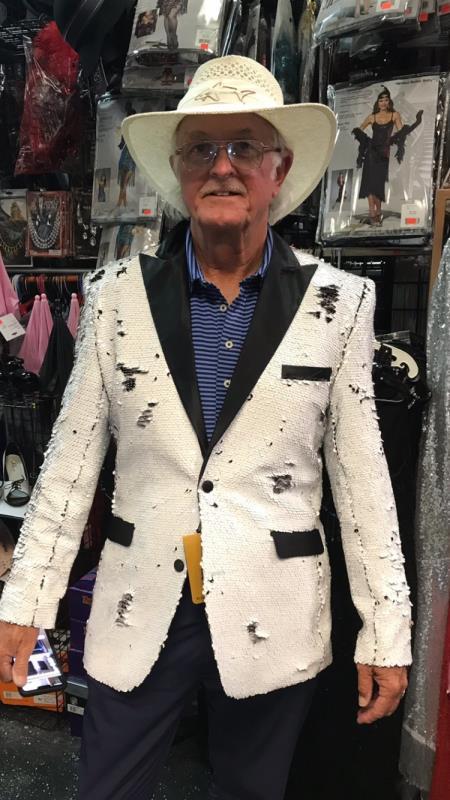 Men's White Blazer