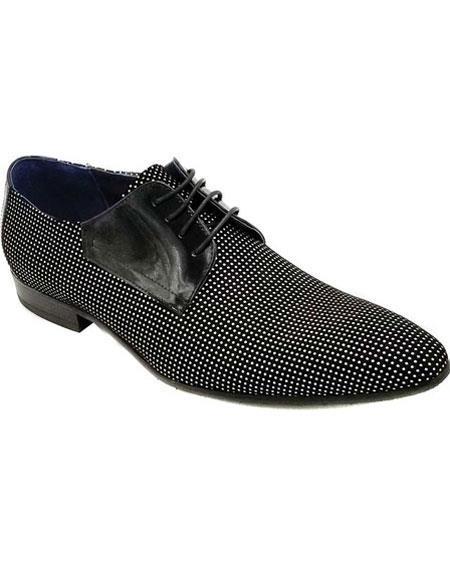 Zota Mens Dress Tuxedo Mens Two Toned Dress Shoe For Men Perfect for Wedding