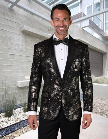 Men's Gold Suit or Tuxedo