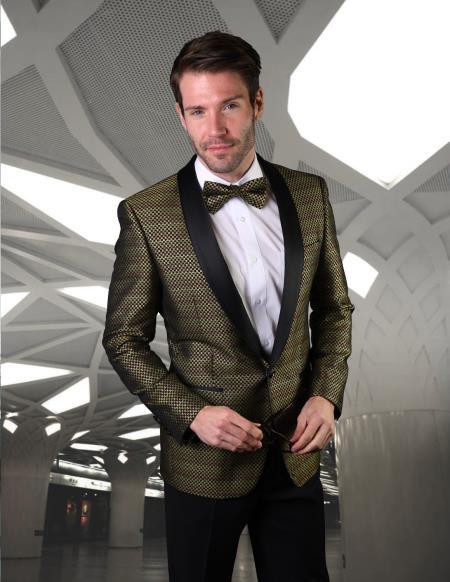 Mens Gold Suit or Tuxedo
