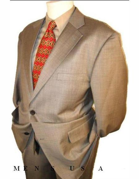 Men's Suits Clearance Sale Taup