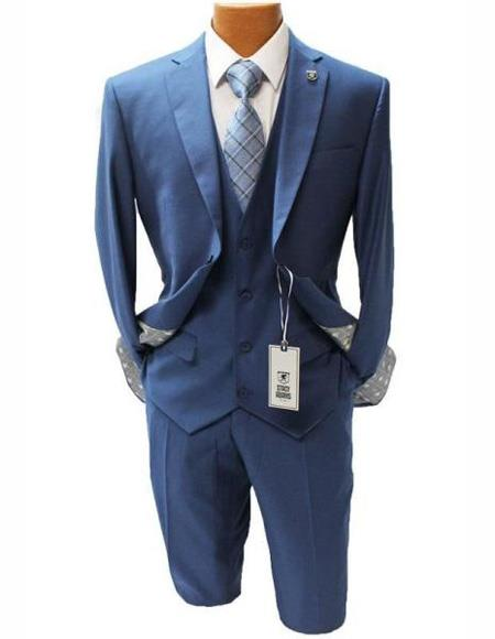 Mens Two Button Suit