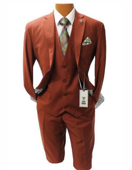 Men's Two Button Suit Modern Fit Suit