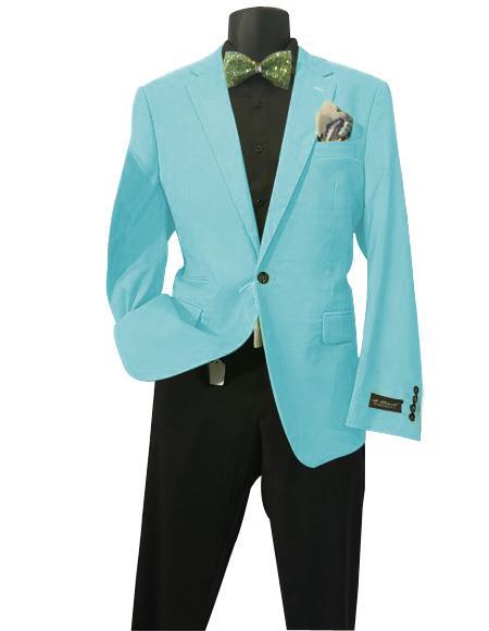 Aqua Men's Solid Sports Coats