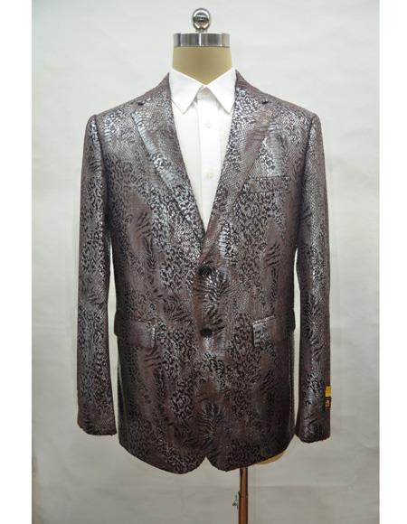 Men's Royal One Chest Pocket Two Button Blazer