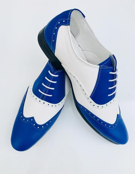 Royal Shoe Alberto Nardoni Leather Upper Two Toned Wing Tip