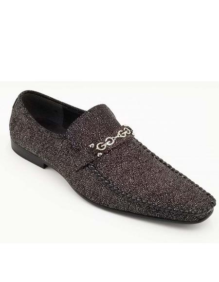 ZOTA Mens Premium Soft Genuine leather Fashion Dress Shoe In Burgundy