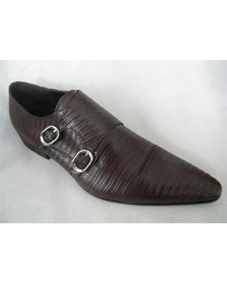 ZOTA Mens Premium Soft Genuine leather Brown Dress Shoe