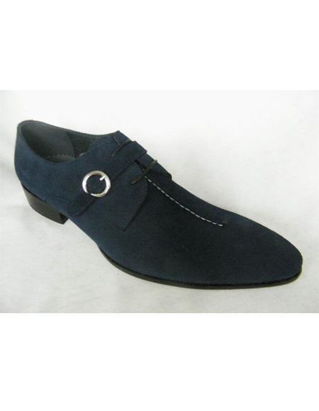 ZOTA Mens Premium Soft Genuine leather Dress Shoe In Black