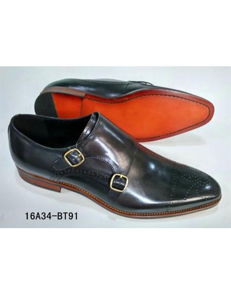 ZOTA Men's Premium Soft Genuine leather Professional Style Dress Shoe In Black