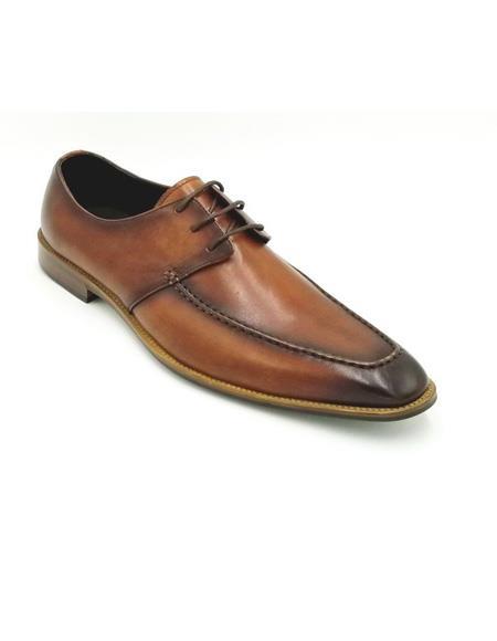 ZOTA Men's Premium Fashionable Pattern Soft Genuine leather Dress Shoe In Black