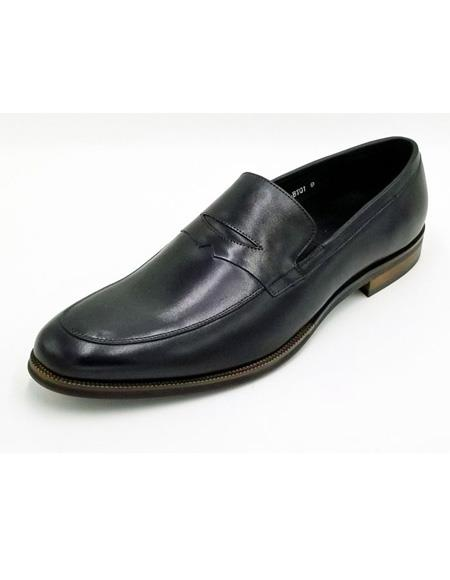 ZOTA Men's Premium Soft Genuine leather Executive Dress Shoe In Tan