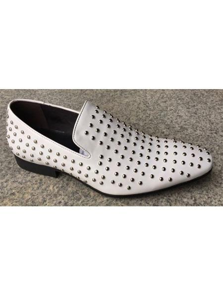 ZOTA Men's Premium Soft Genuine leather Dress Two Toned Dress Shoe In White