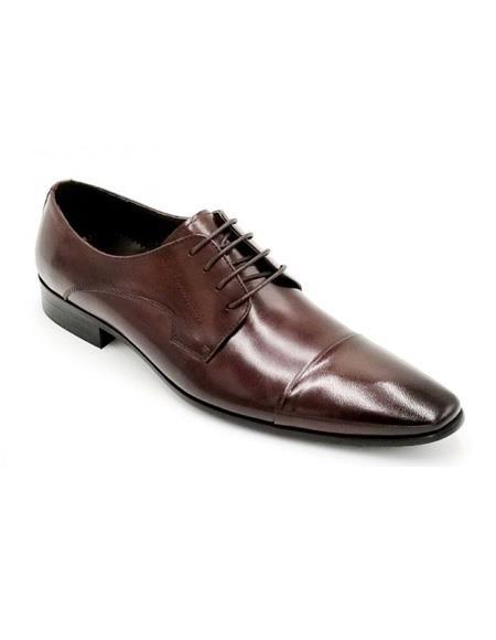 ZOTA Men's Premium Soft Genuine leather Dress Shoe In Navy