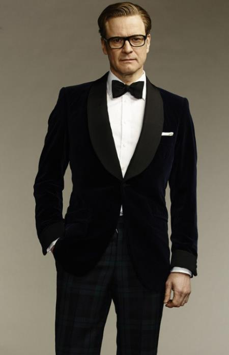 Kingsman Harry Hart Smoking Dinner Jacket
