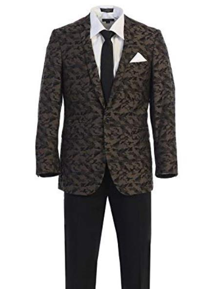 Pattern Texture Blazers Dinner Jackets Fancy Blazer Fashion Sport Coat