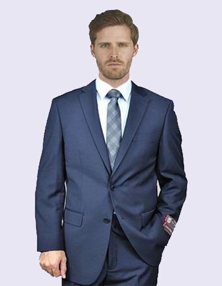Share Giorgio Fiorelli Men's New Navy Suit