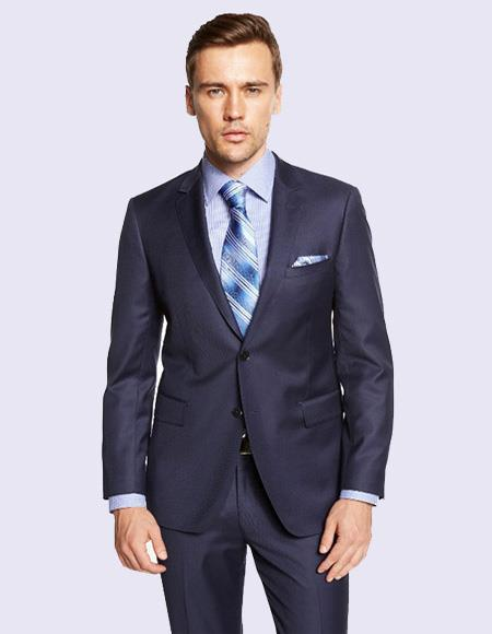 Giorgio Fiorelli Men's Indigo Blue Suit