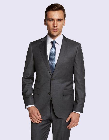 Giorgio Fiorelli Men's Medium Gray Suit