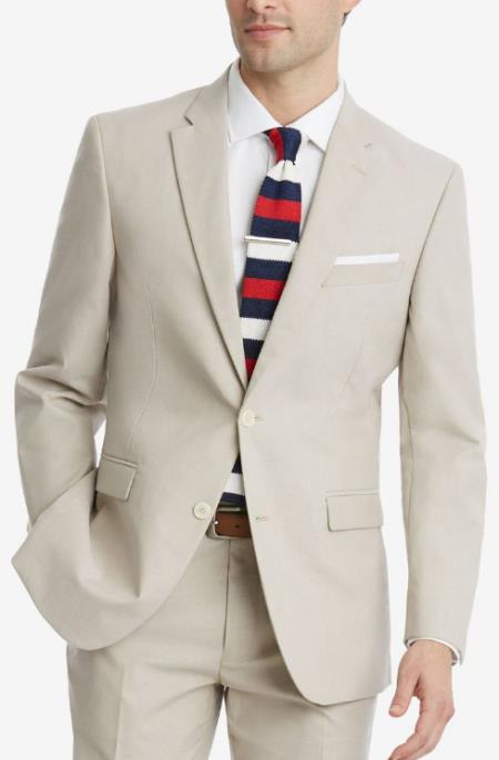 Men's White One Chest Pocket Homecoming Outfit