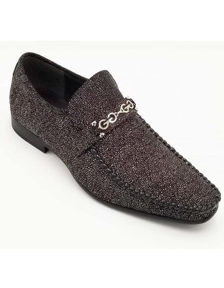ZOTA Men's Premium Soft Genuine leather Showstopper Style Fashion Dress Shoe In Black