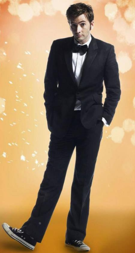 New Collection of 10th Doctor Black Suit For Men