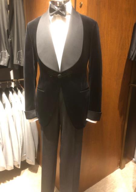 Men's Single Breaste Shawl Lapel Suit
