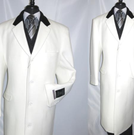 Chesterfield Wool & Cashmere Full Length Velvet Collar Cashmere Wool Blend