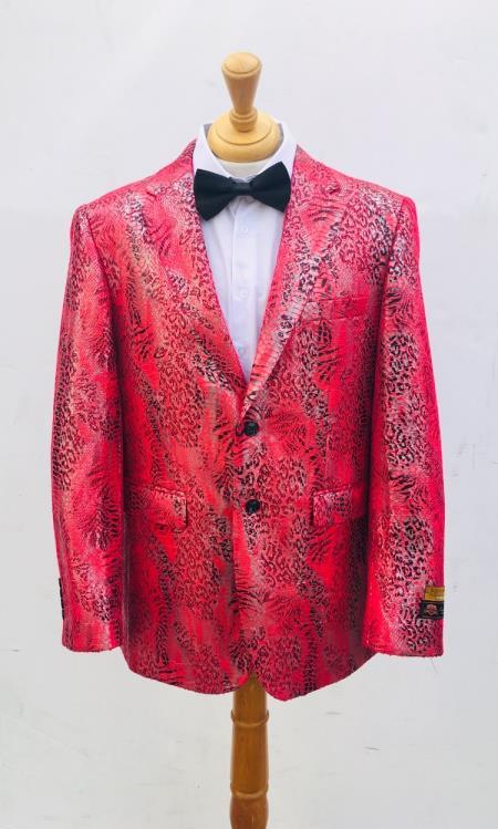 Men's Blazer Pink