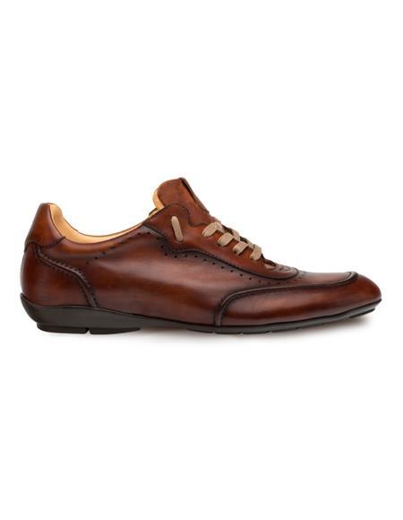 Mezlan Brand Mezlan Men's Dress Shoes Sale TIVOLI By Mezlan in Cognac