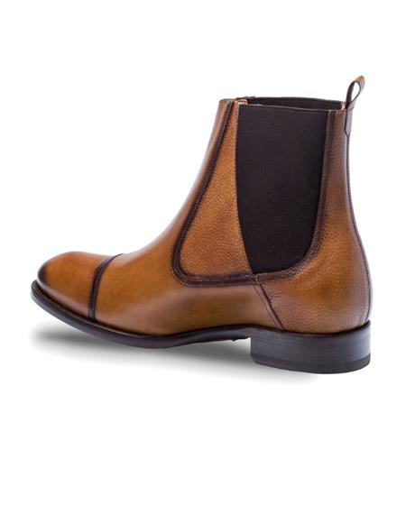 Mezlan Brand Mezlan Mens Dress Shoes Sale HIGGINS By Mezlan In Cognac