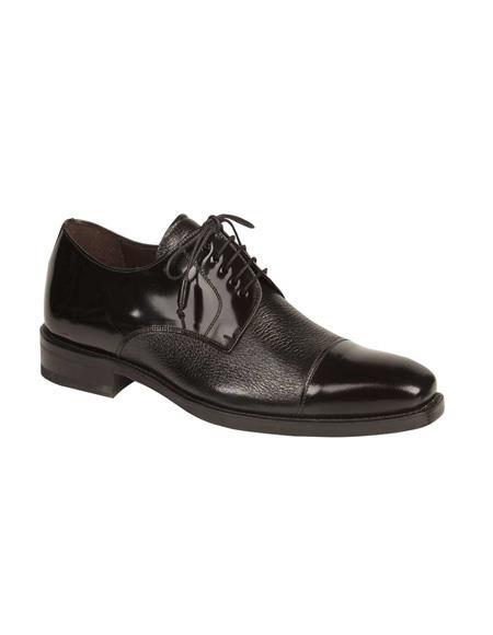 Mezlan Brand Mezlan Men's Dress Shoes Sale SOKA By Mezlan In Black