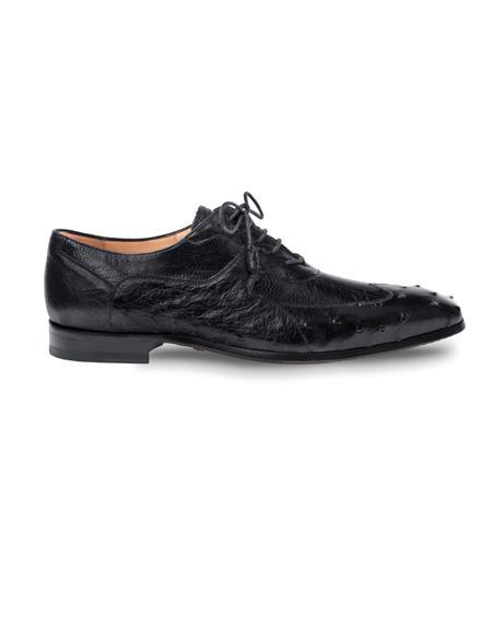 Mezlan Brand Mezlan Men's Dress Shoes Sale Authentic Mezlan Loafer - Mezlan Loafer - Mezlan Slip On GETTY By Mezlan In Black