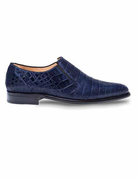 Mezlan Brand Mezlan Men's Dress Shoes Sale GERE By Mezlan In Blue