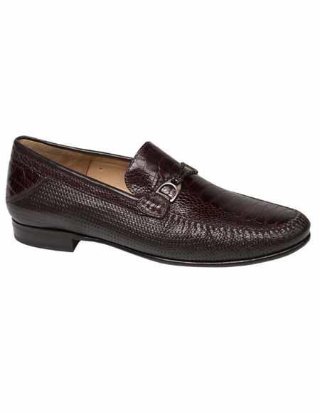 Mezlan Brand Mezlan Men's Dress Shoes Sale Authentic Mezlan Loafer - Mezlan Loafer - Mezlan Slip On VESTA By Mezlan In Brown