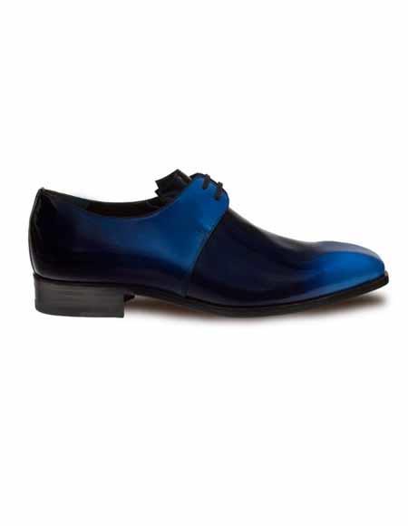 Mezlan Brand Mezlan Men's Dress Shoes Sale CHOPIN By Mezlan In Blue