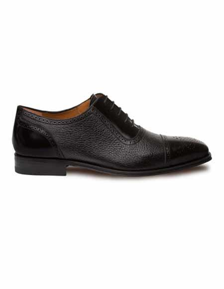 Mezlan Brand Mezlan Men's Dress Shoes Sale MURINO By Mezlan In Black