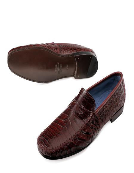 Mezlan Brand Mezlan Mens Dress Shoes Sale CERUS By Mezlan In Red
