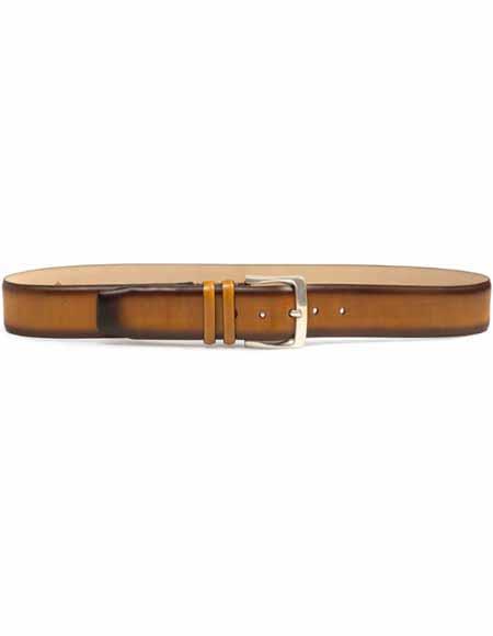 Mezlan Belt Brand AO11111 By Mezlan Belt In Honey