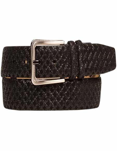 Mezlan Belt Brand AO10359 By Mezlan Belt In Black